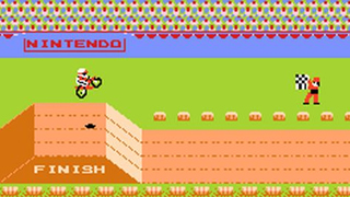 jeu retro nintendo excitebike