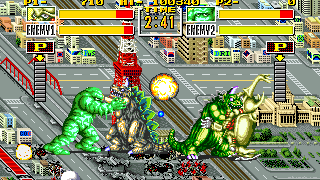 jeux rétro neo geo King of Monsters