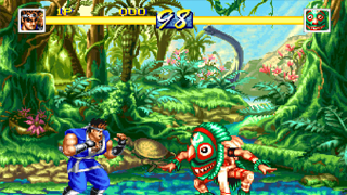 jeux rétro neo geo World heroes perfect